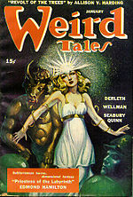 Weird Tales cover image for January 1945