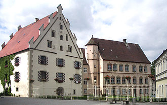 Weißenhorn - Neuffen- and Fugger châteaux in 2005 before being renovated