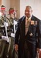 Welcome for HM King Tupou VI of the Kingdom of Tonga and HM Queen Nanasipau'u (Cropped) 02.jpg