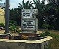Welcome gate to Pematang Kerasaan (Dusun I), Bandar, Simalungun.jpg