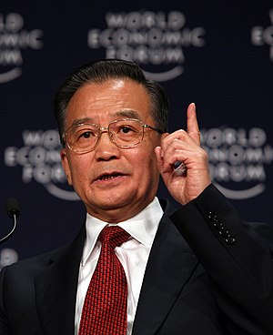 2010 Asian Games opening ceremony - Wen Jiabao officially declared the Games opened at the ceremony.