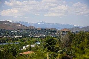 Skyline of Wenatchee, 2009