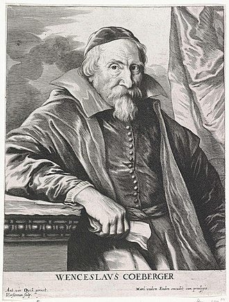 Wenceslas Cobergher - Portrait of Wenceslas Cobergher