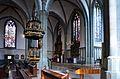 Werl, denkmalgeschützte Propsteikirche, die Kanzel von Johann Sasse, 1668.J 2.JPG