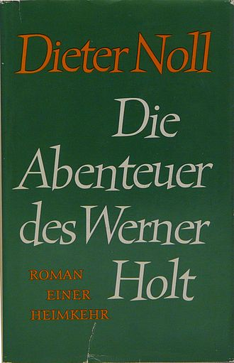 The Adventures of Werner Holt - The cover of the 1986 edition.