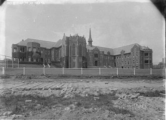 Wesley College, University of Sydney - Wesley College in the 1930s.