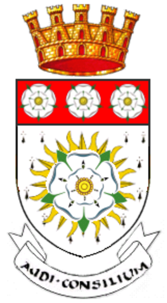 West Riding of Yorkshire - Arms of the County Council of the West Riding of Yorkshire