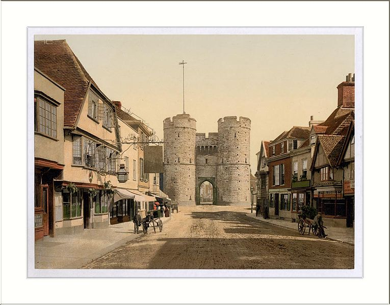 West Gate, Canterbury, England - one of the 9 best places to celebrate love