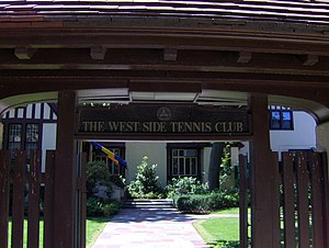 West Side Tennis Club - Entrance