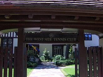 West Side Tennis Club - Entrance
