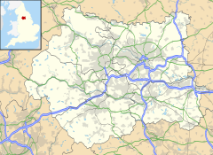 Huddersfield is located in West Yorkshire