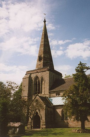 Weston, Staffordshire - Image: Weston upon Trent Church geograph.org.uk 63368