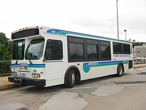 Norwalk Transit District - Image: Wheels Orion 159