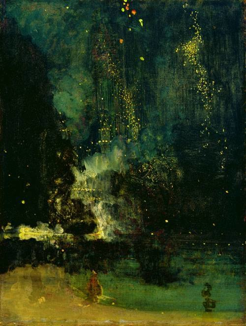 Whistler - Nocturne in black and gold