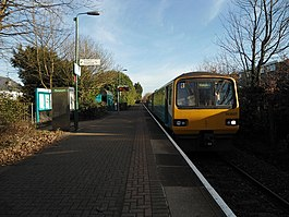 Whitchurch station towards Cardiff.jpg
