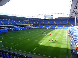 former football stadium of Tottenham Hotspur
