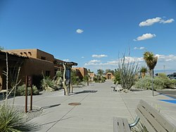 White Sands National Monument Visitor Center, alternate view.JPG