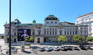 Volkstheater, Vienna - North side