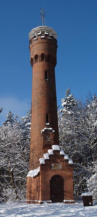 Bismarck tower - Bismarck Tower in Zielona Góra (formerly Grünberg, Silesia, Germany)