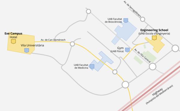 Uab Campus Map Pdf.Wikimedia Hackathon 2018 Venue And Barcelona Mediawiki