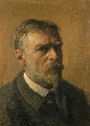 Willem Bastiaan Tholen - Self-portrait (1914)