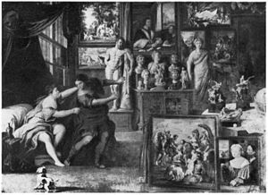 Cornelis van der Geest - Image: Willem van Haecht Collection of Cornelis van der Geest with Joseph and Potiphar's wife