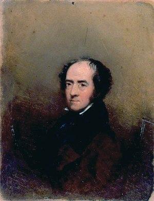 William Havell - Self portrait (1838)