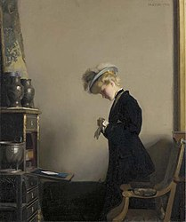 William McGregor Paxton The Letter 1908.jpg
