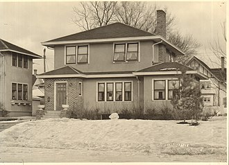 Liebenberg and Kaplan - William Wigginton house, designed by Jack Liebenberg, built by D.C. Bennett, 1919.