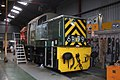 Williton - D9526 being serviced.JPG