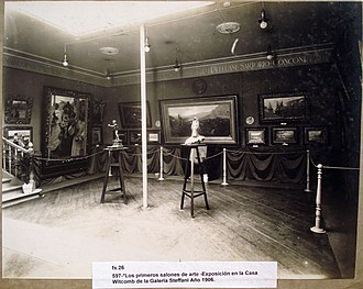 Alexander Witcomb - One of the first exhibitions held by the gallery, in 1906.