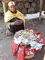 Woman Selling Devotional Items - Debre Maryam (Church) - Near Bahir Dar - Ethiopia (8679547845).jpg