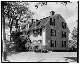 Mount Holyoke College - Home of Benjamin Ruggles Woodbridge, 'Sycamores', a former dormitory for the college