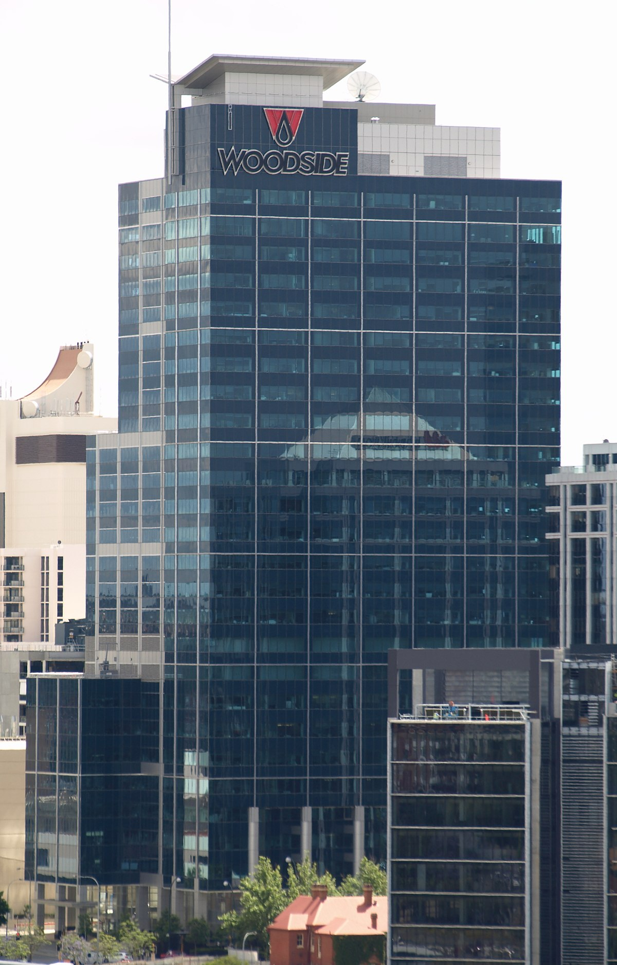 Woodside plaza wikipedia for 137 st georges terrace perth