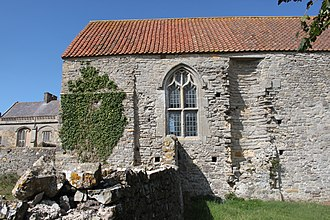 Woodspring Priory - The infirmary from the south