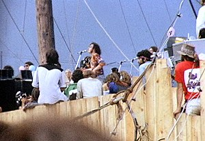 History of the hippie movement - Joe Cocker at Woodstock 1969