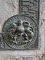 Woosten Kirche Grabplatte Wappen 2013-03-05 258.JPG