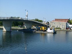 Trent-Severn Waterway in Campbellford