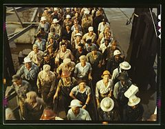 Workers leaving Pennsylvania shipyards, Beaumont, Texas1a35442v.jpg