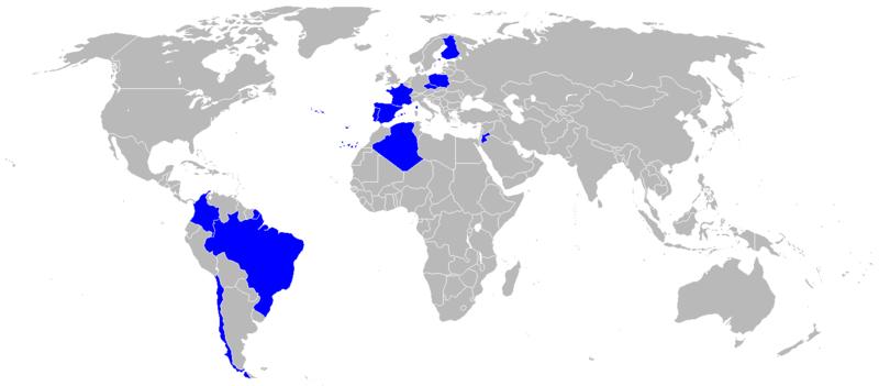 طائرة النقل التكتيكيه Casa C-295 800px-World_operators_of_the_EADS_CASA_C-295