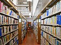 Yokkaichi City Library 1F bookshelves ac (3).jpg