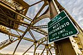 Yolo County Line - West Sacramento City Limit Population Sign - Tower Bridge, Sacramento, California (25945403212).jpg