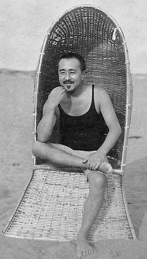 Tetsugorō Yorozu - Yorozu at Chigasaki, 1920s