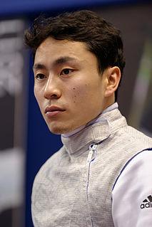 Yuki Ota Japanese foil fencer
