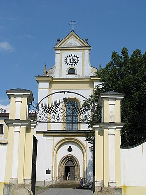 Basilica of Our Lady of the Assumption and St. Nicholas - Image: Zámek Žďár nad Sázavou 2008 06 (1)