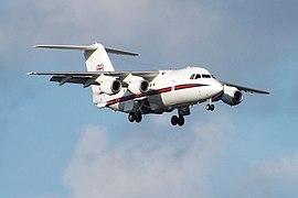 ZE701 BAe 146 CC.2 (11329194625)