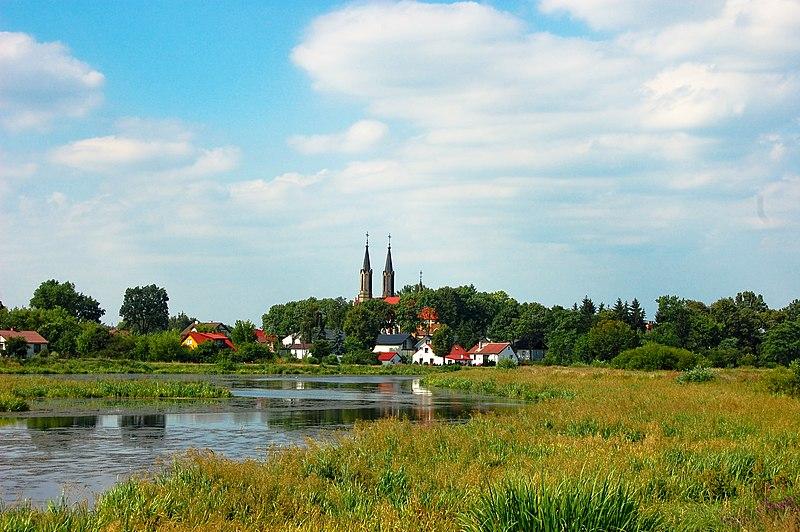 File:Zemborzyce, widok od strony Bystrzycy.jpg