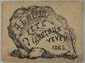 Zentralbibliothek Solothurn - ALBUM de la Fête des Vignerons de Vevey 1865 - a1072.tif
