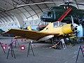 """Zlín Z-37 Čmelák or """"Bumblebee"""" aeroplane ,Technik-Museum Pütnitz, Ribnitz-Damgarten Sept 2009.jpg"""