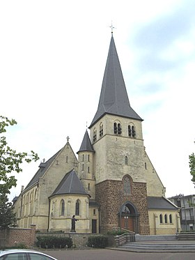 L'église Saints-Hubert-et-Vincent
